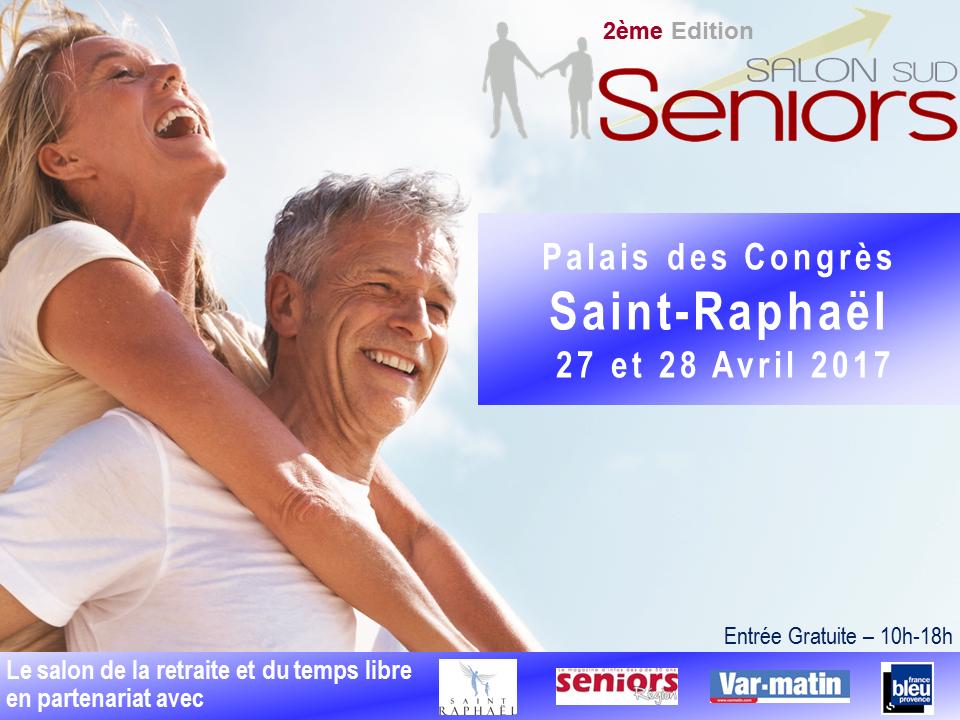 Affiche Salon des Seniors Saint -Raphaël Avril 2017.png