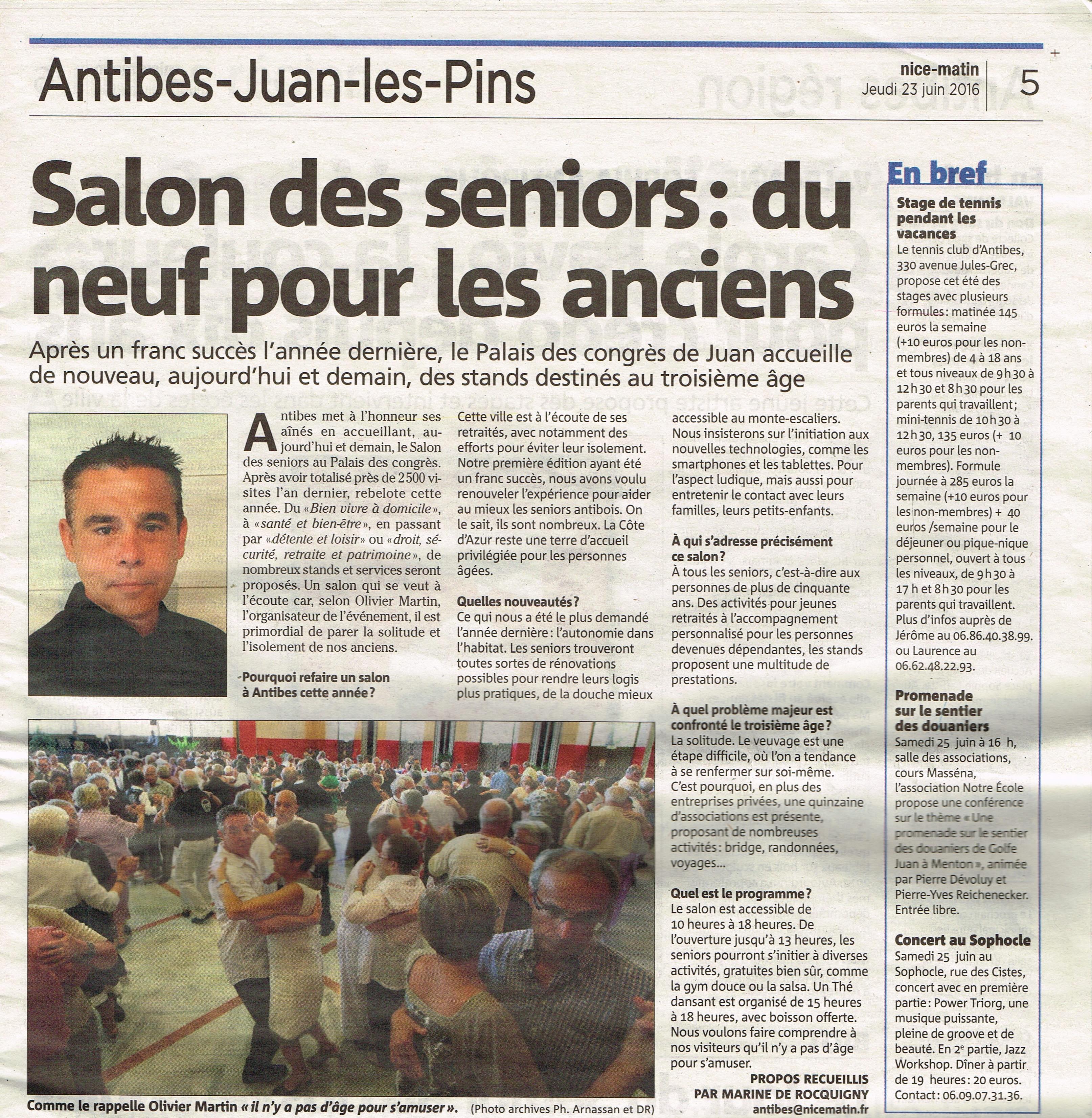 Galerie presse le salon des seniors for Salon des seniors