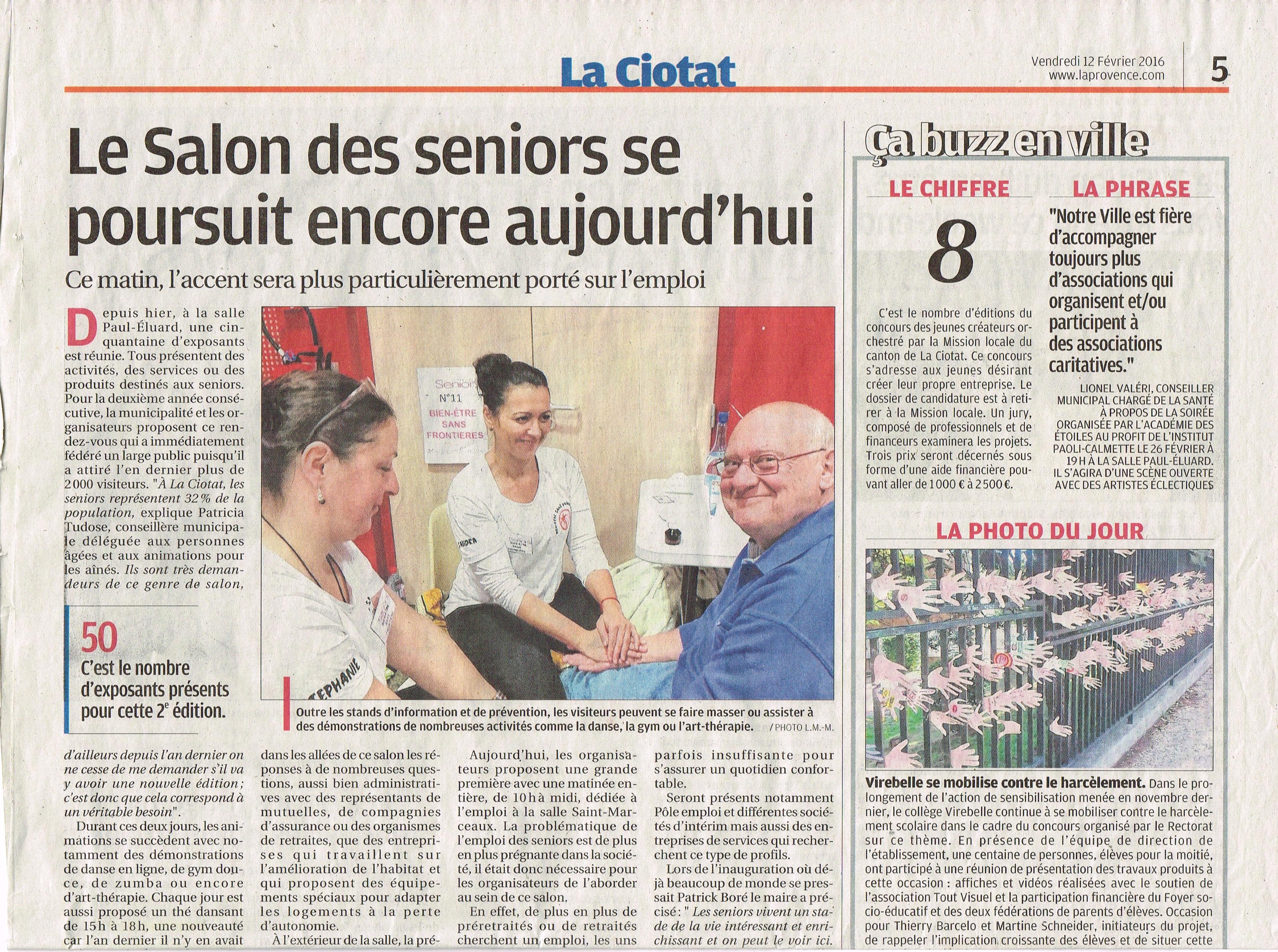 Galerie Presse Le Salon Des Seniors