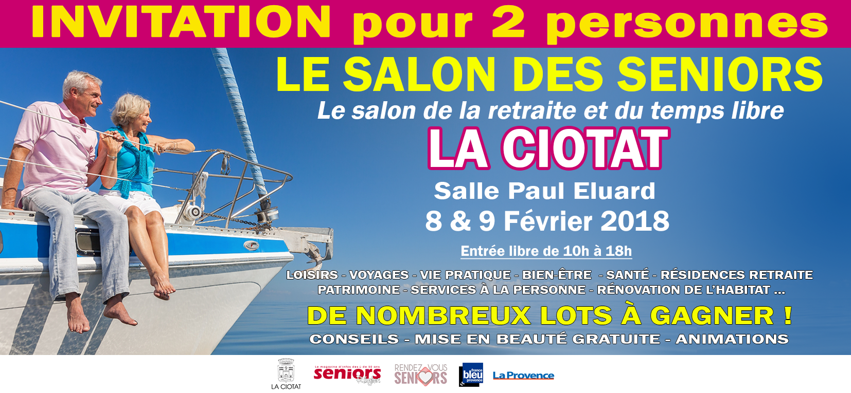 Le Salon Des Seniors De La Ciotat 2018